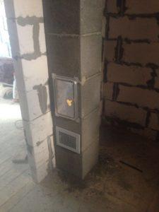 Керамический дымоход для бани фирмы Schiedel