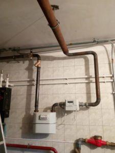 Разводка газа в частном доме