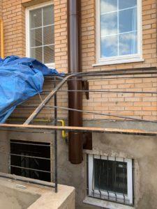 Монтаж дымохода через стену